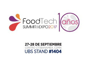 UBS Participa en Food Technology Summit & Expo 2017