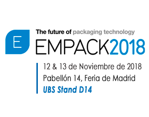 United Barcode Systems is an official exhibitor at Empack Madrid 2018